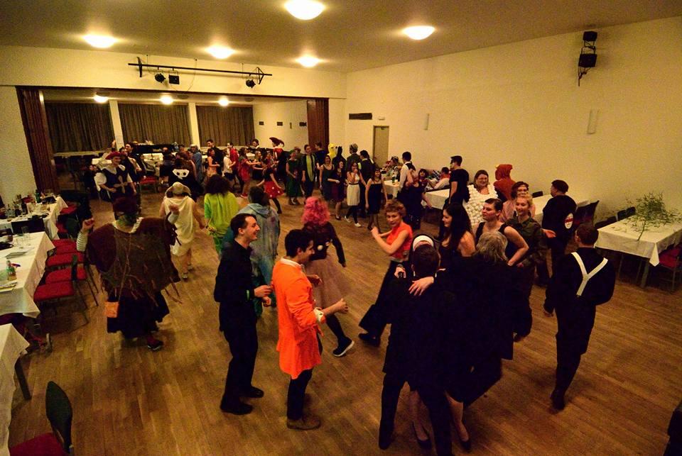 Maškarní ples střediska Povodeň